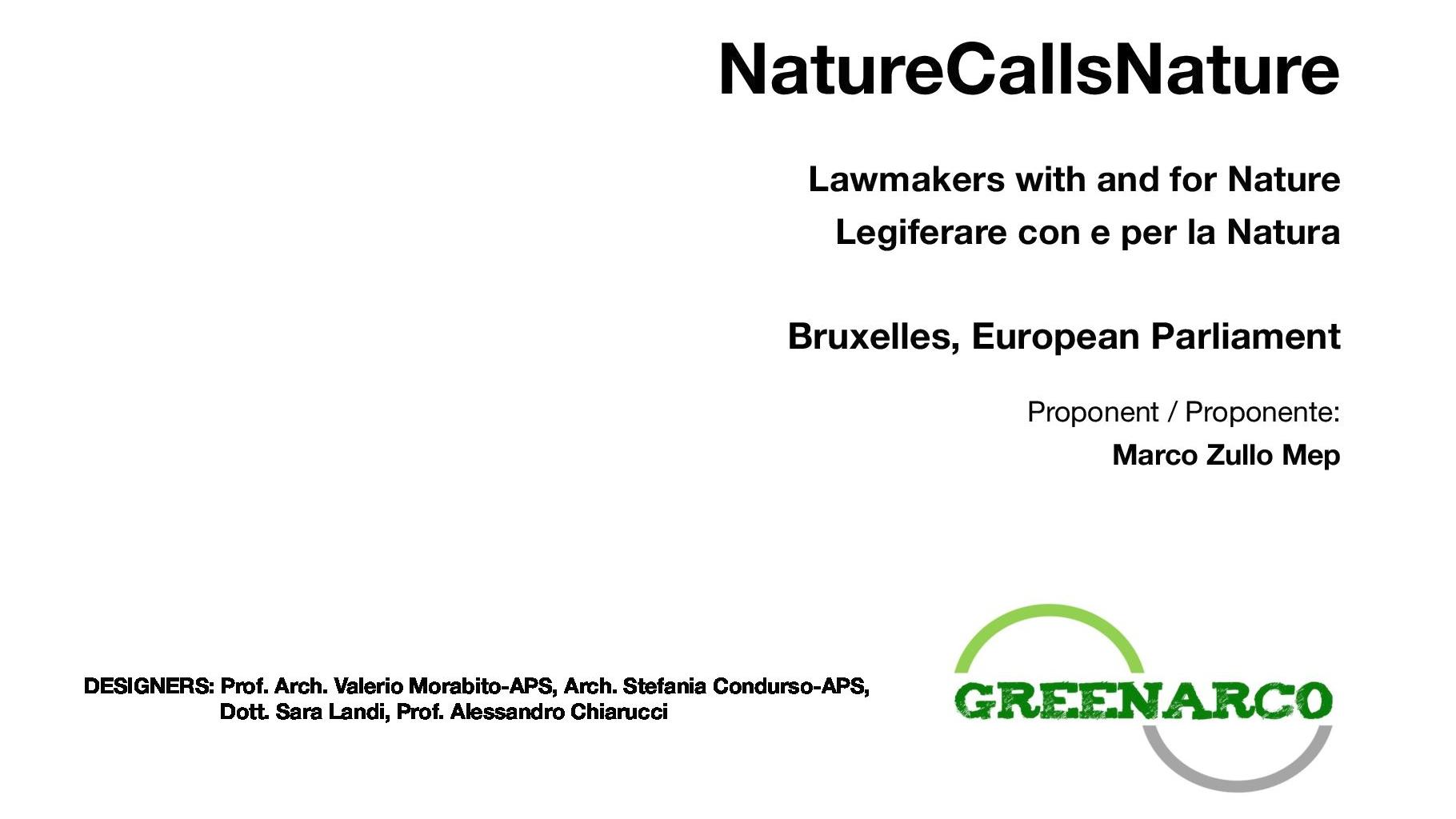 Nature Calls Nature project idea cover